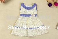 Fashion Little Girls Princess Dress Baby Girl Dress  Print Kid's Dresses Summer Infant Dress Baby Clothing New
