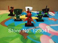 The Flash Super Hero Figures Toys 6pcs/lot The Avengers Classic Toys Action Building Blocks Minifigures