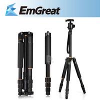 Portable BEIKE Q-999S Tripod 1460mm 6KG Camera Tripod Monopod with Detachable Ballhead Kit For Digital SLR P0011894