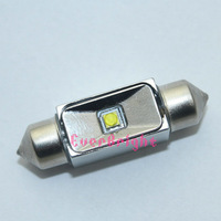 New CREE LED!! 2pieces/lot High Power Cree 7W 36mm Auto Car Festoon LED Aluminum housing Interior Dome Reading Lamps