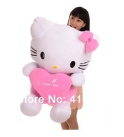 60CM Big Size Hello Kitty Plush Stuffed Animal Doll Toy For Child Birthday Gifts,Girls's Boys