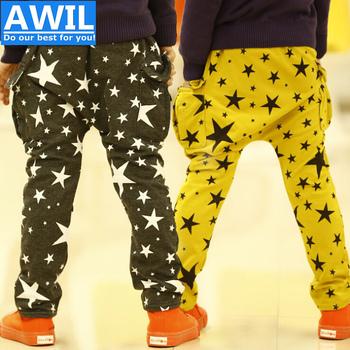 Kp022 бесплатная доставка новый 2014 высокое качество дети брюки осень брюки для мальчиков детей 2 - 8 лет