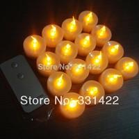 108pcs/lot Controle Remoto LED Candles With Remote Control Candlelit Best Beach Wedding Favors christmas santa vela flutuante