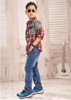 Children's Wear Cuhk Children's Summer Boy Thin Elastic Jeans Trousers The New Children Elastic Pants Trousers
