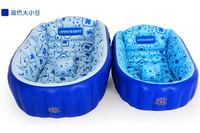 Baby inflatable bathtub newborn bath basin baby bath basin thickening child bath tub