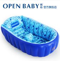 Eco-friendly material Large baby inflatable bathtub ploughboys newborn baby bathtub eco-friendly bathtub