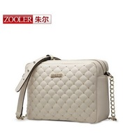 Chain bag of small fragrant Lingge package of New Fashion Leather Handbag Shoulder Bag Messenger Bag