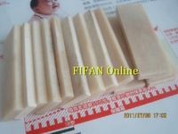 70 * 23 * 6 mm / Primary color bovine bone pieces / carved piece of bone material