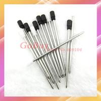 50pcs drop shipping pen cartridge,pen refills replacement for 14cm crystal ballpoint pens,good gift