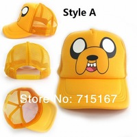 New arrival hats Taiwan Anime Adventure Time Caps Jake / BMO Sun Hats 3 styles anime cap