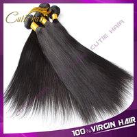 Rosa Hair Products 4PCS Peruvian Virgin Hair Straight Human Hair Weave Straight Cheap Virgin Peruvian Human Hair Can Be Dyed