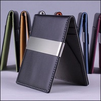 2014 New arrival fashion Korea design men money clips,wallets men wallet (WP189)