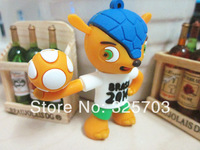 The new 2014 USB flash drive 32 gb USB flash cartoon mascot free transportation