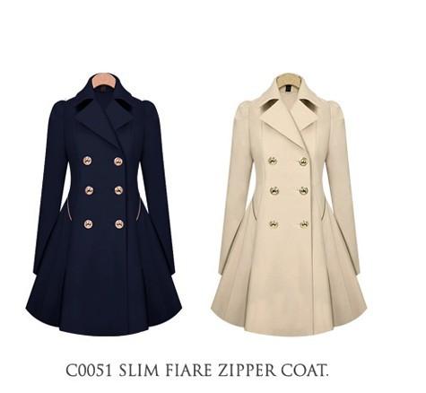 Wool Coat Woman 2014