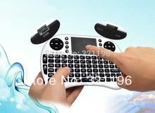 2.4G inalámbrico de teclado Inglés Mini UKB -500 Air ratón Multi - Media Remote Keyboard control Touchpad Handheld para la caja de TV(China (Mainland))