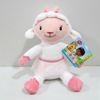 Doc McStuffins doll toys plush McStuffin Lambie sheep 30cm cute plush stuffed soft animals doll kids toys dolls for girls