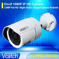 Onvif 2.0 Mini IP Camera Outdoor 1080P Waterproof IP66 Network 2.0MP HD IR Nightvision CCTV Camera P2P Plug Play VC-MIC1080TK