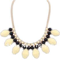 2014 Wholesale Fashion Bohemian Necklaces Pendants Vintage Leaf Three Layers Chunky Elegant Necklace For Women Jewlery