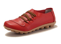 women flats women genuine leather shoes women shoes lace up woman sneakers wholesale flats sapatos femininos 2080