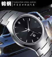 2014Brand luxury full Tungsten steel casual quartz watch dress men & women dive watches relogio masculino designer wristwatches