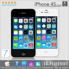 "100% Original Apple iPhone 4S Unlocked Phone 16GB 3.5""IPS IOS 7 Dual Core 8MP NFC WIFI GPS Smartphone USED(China (Mainland))"