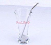 High quality Stainless Steel Straw bend drinking straw beer straw fruit juice straw 10pcs