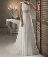 2015 oblique wedding the bride wedding dress one shoulder train chiffon mermaid wedding dresses