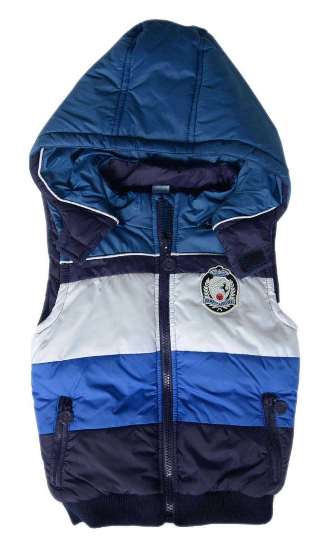 2014 retail clearance sale children's autumn/winter vest kids zipper hoody vest,vaist coat for boys free shipp