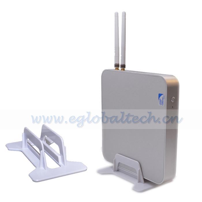 Mini PC Server Windows XP/Win 7/Win 8 Intel Celeron 1037U Thin PC HDMI 1080P Multimedia Center 4 USB3.0 Port 4GB RAM 160GB HDD(China (Mainland))