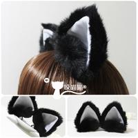 Trigonometric cat ears hairpin - cosplay-6