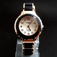 Wholesale Newest Fashion Black&White Watch Women Ladies Dress Quartz Wrist Watch TW037