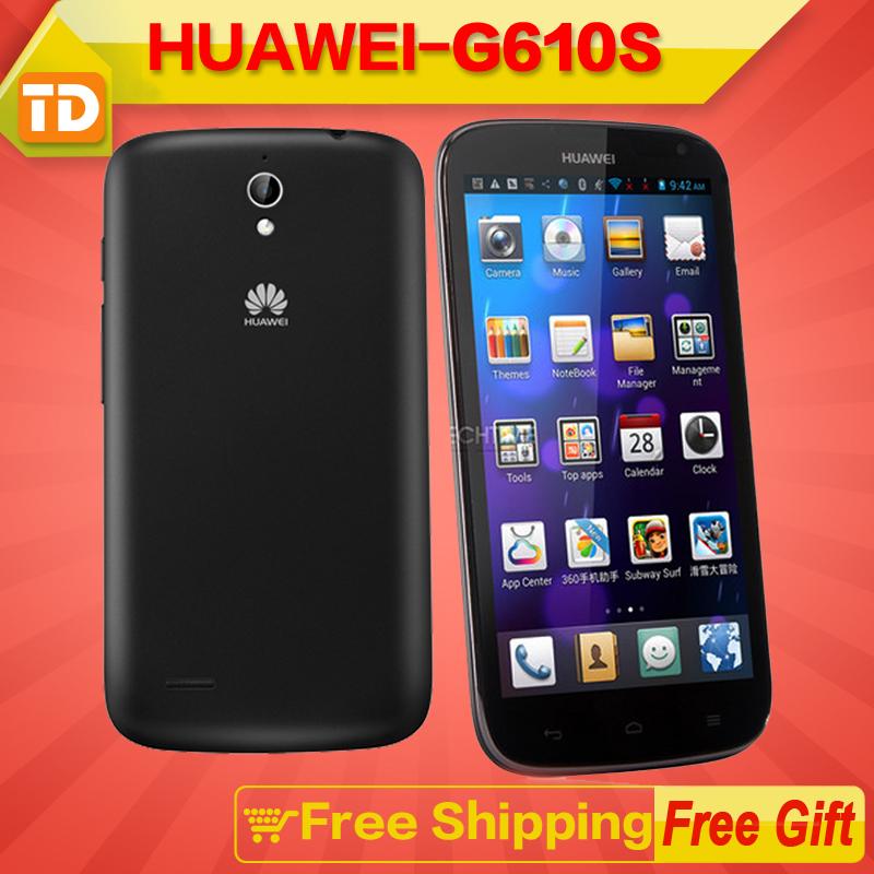 "Huawei G610s G610 Quad Core Mobile Phone MTK6589M 1.2GHZ 5.0"" IPS 960x540 1GB RAM 5mp android 4.2 GPS muti language Google play(China (Mainland))"