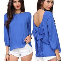 Fashion Women shirt leopard print chiffon loose chiffon shirt women's racerback top female