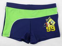 New 2014 Kids Swimwear Children Beach Swimming Trunks Boy Swimsuit  Cartoon Design Size 3/4,5/6,7/8,9/10,11/12