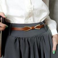2014 New arrival Fashion Metal Buckle Faux leather belts for women female belts GC10