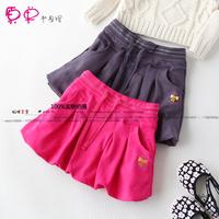 Small child bust skirt bag skirt spring and autumn short skirt lantern bag skirt casual all-match