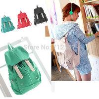 Free Shipping New Fashion Cute Casual Punk Girl Canvas Shoulder Bag School Backpack Satchel #3362