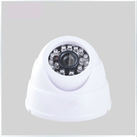 Free shipping!800tvl Panasonic CCD  HD Camera,with D-WDR AND OSD Menu DOME Camera with 24pcs lR Leds