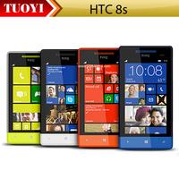 Original 8S HTC Windows Phone 8S A620e 3G 5MP Wifi GPS 4 inch Unlocked Smart Cell Phone EMS DHL Free Shipping