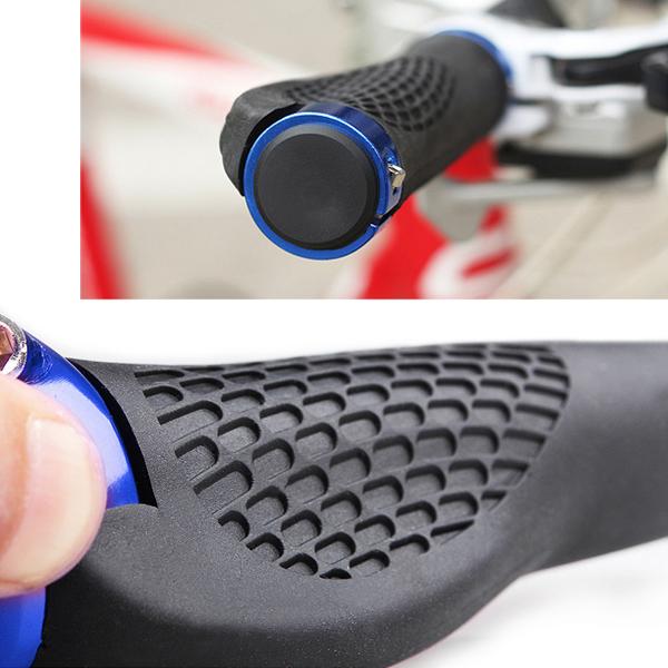 2015 1 pair Bicycle handlebar mountain bike handle Rubber handle human engineering