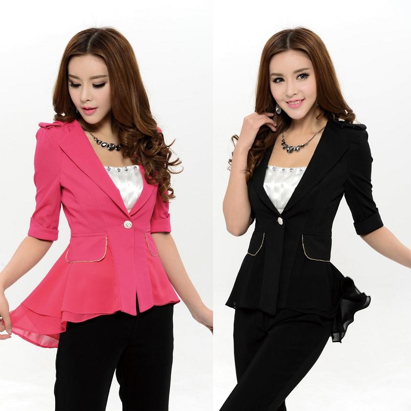 Весна новинка женщины костюмы с брюки и пиджак комплект элегантный дамы брючный костюм женское офис стили
