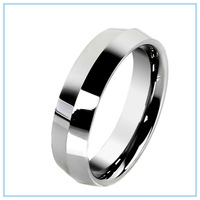 Mens Jewelry Special Designer Quality Tungsten  Rings for Men Women High Polish Engagement Wedding Finger Silver Ring 6mm