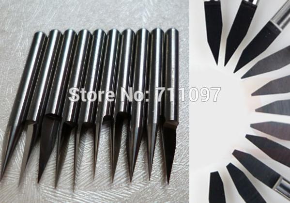 5шт 4x45dx0.2mm коническая плоская фрезы для