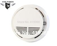 Free shipping 433 MHZ home security alarm system Wireless ionization Smoke sensor Alarm Fire Detector (6pcs SM-100)