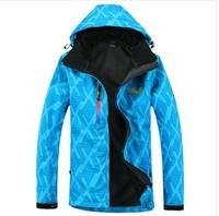 2014 New Arrival Spring and Autumn Women Jacket Outdoor Waterproof Softshell Microfleece Hoodie Coat
