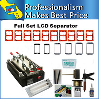 220V/110V LCD Touch Screen Seperate Machine Kit 10 Moulds+ 6 Glass+ 48w UV LAMP +UV Glue  for Samsung/iPhone Refurbish Machine