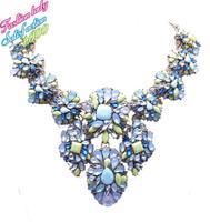 Statement shourouk necklace vintage design necklace and pendants excellent quality women accessories 1050