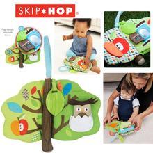 New In 2014 Baby Toys Apple Friendship Sen Linbu book cloth book with gutta-percha tree -dimensional cloth book(China (Mainland))