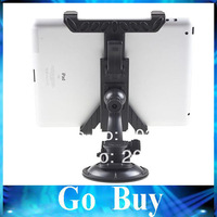 Free Shipping 0010 Car windshield Mount Holder Bracket Stand Clip Adustable Frame For iPad