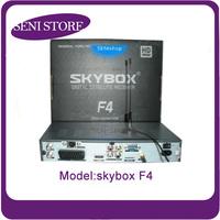 Original skybox F4 Full HD 1080p DVB-S DVB-S2 MPEG4 HD PVR Dual-Core CCCAM GPRS Digital Satellite receiver Free Shipping